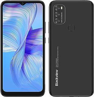 Blackview A70 SIMフリー スマホ 本体 Android 11スマートフォン6.5インチFHD+ディスプレイ8.3mmスリム5380mAhバッテリー13MPデュアルカメラ32GBスマートフォン本体4G携帯電話 顔認証 指紋認証 技...