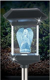 Crystal Light 14'' Solar LED Memorial 3D