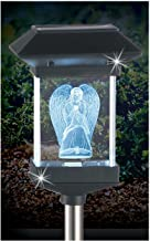 Crystal Light 14'' Solar LED Memorial 3D