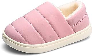 KVbabby Chausson Enfant Fille Petit Chausson fourré Pantoufle Chausson Garçon Chaussons Hiver Antidérapants bébé Chaussures