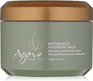 Agave Healing Oil - Restorative Hydrating Mask. Lightweight, Moisturizing Deep Conditioner that Heals 8.5 oz