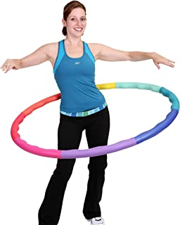 Sports Hoop Weight Loss Series: ACU Hoop 4M - 4lb (40 inches Wide) Medium, Weighted Fitness Exercise Hula Hoop