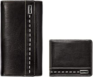 Renato Landini Black Leather For Unisex - Set
