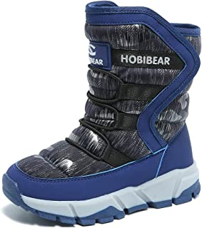 HOBIBEAR Womens Snow Boots Winter Snow Rain Warm Waterproof Boots