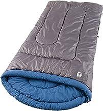 حقيبة نوم للكبار بيضاء ووتر من كولمان، كبيرة وطويلة