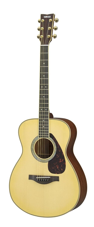 Yamaha L-Series LS16M Solid Mahogany Acoustic-Electric Guitar w/ Case, Natural
