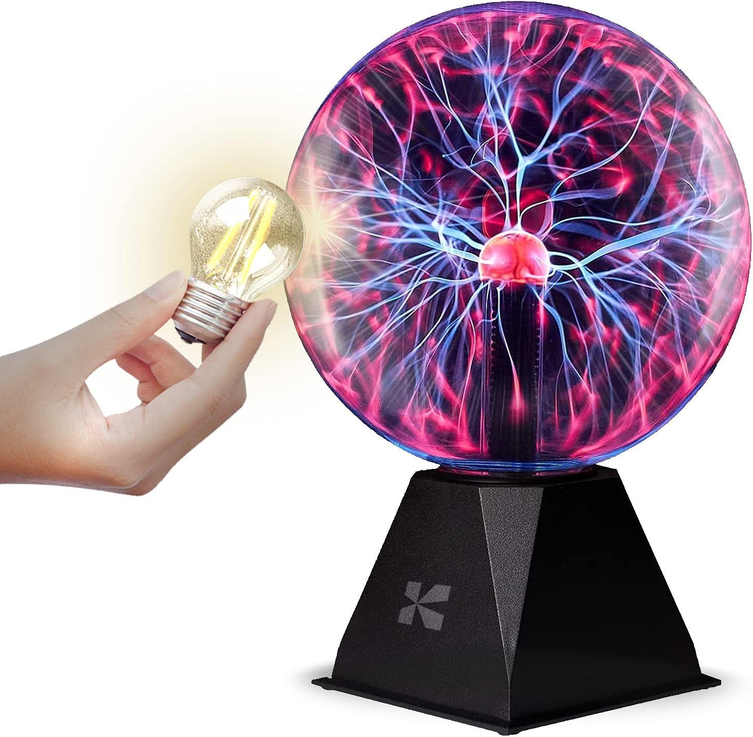 Katzco Plasma Ball - Scientific Set Sacramento Rare Mall Bul Lightning with Charged a