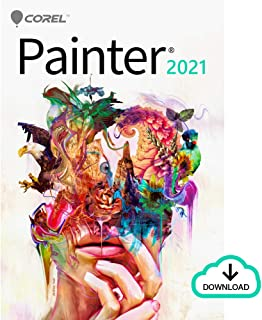 Corel Painter 2021 Education Edition | Digital Painting Software | Illustration, Concept, Photo, and Fine Art [Mac Download]