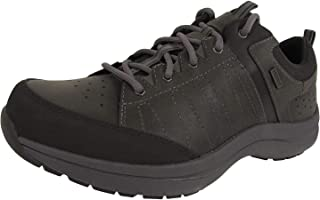 Dunham Mens Seth Waterproof Lace Up Oxford Shoes, Grey, US 10 XXW