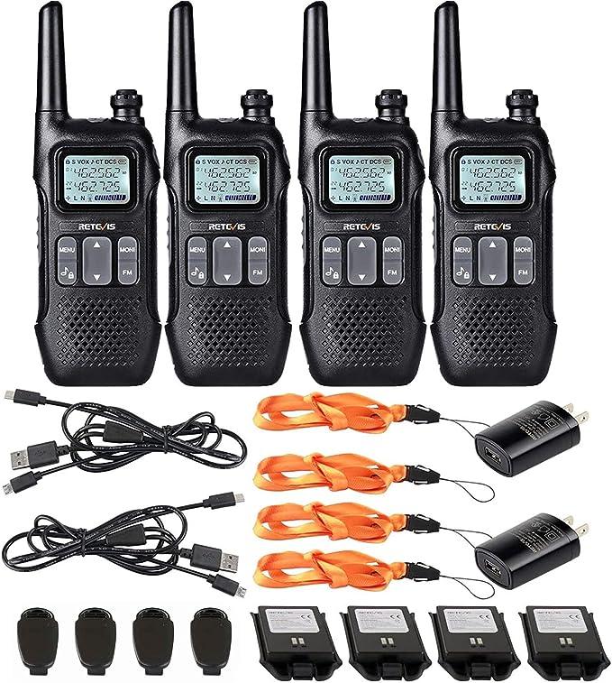 Electrnica Radiocomunicacin Radtel RT12 PMR446 Walkie Talkie ...