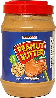 DFOODS Original Crunchy Peanut Butter (2.5KG - 2500 Grams)