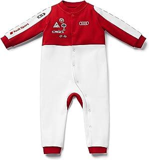 Audi Audi Sport Strampler Racing, Baby, weiß/rot, 62/68