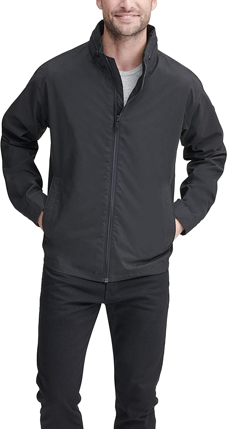 DKNY Men's All Man's Lightweight half Jacket Zip Resistant Water With Choice