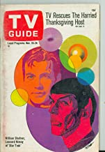 1967 TV Guide Nov 18 Star Trek - Colorado Edition Very Good to Excellent (4 out of 10) Used Cond. by Mickeys Pubs