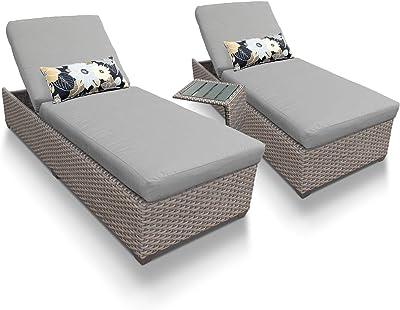 Amazon.com: polywood pws145 – 1-ma Nautical chaise (3 piezas ...