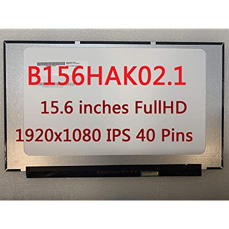 b156hak02 1 15 6 inches fullhd 1920x1080 ips 40 pins laptop led lcd display touch screen digitizer assembly replacement