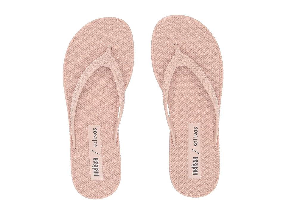 + Melissa Luxury Shoes x Salinas Braided Summer Flip Flop  Beige