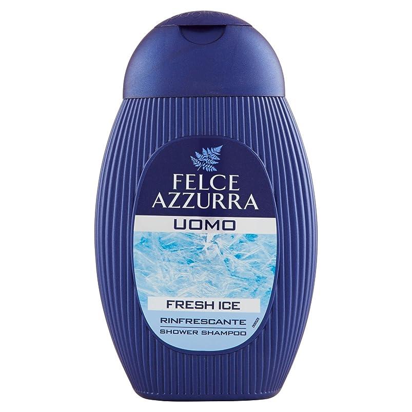 Felce Azzurraシャンプーシャワーフレッシュアイス - 1 x 250 ml - 合計:250 mlパック