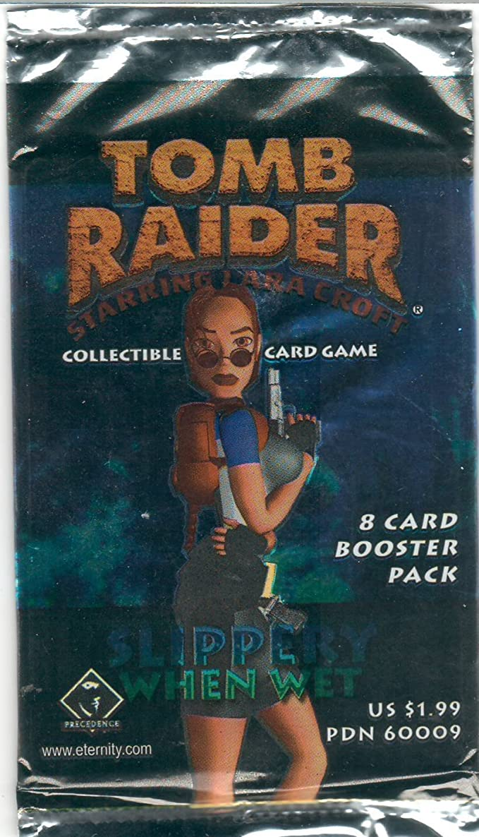 Tomb Raider 8 Card Booster Pack