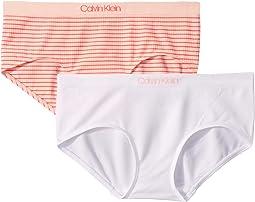 Classic White/Pink Melon Stripe