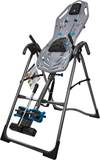 Teeter FitSpine X3 Inversion Table, 2019 Model, Deluxe Easy-to-Reach Ankle Lock, Back Pain Relief Kit, FDA-Registered