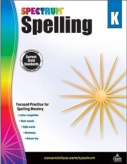 Carson-Dellosa Spectrum Spelling Workbook, Grade K