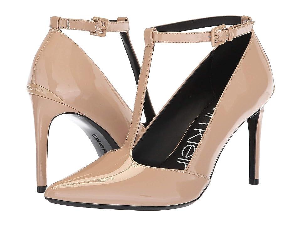 Calvin Klein Rocha (Desert Sand Patent) Women