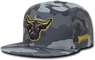 University of Minnesota State Mankato Mavericks NCAA Flat Bill Gray Camo Camouflage Cotton Snapback Baseball Cap Hat