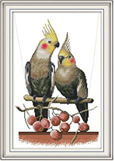 parrot embroidery pattern