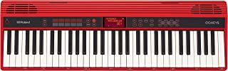 Roland GO:KEYS 61-key Music Creation Piano Keyboard with Integrated Bluetooth Speakers (GO-61K)