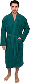 Men's Robe, Turkish Cotton Terry Kimono Bathrobe