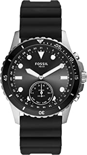 Fossil Smartwatch Hybrid Connected Uomo con Cinturino in Silicone FTW1302