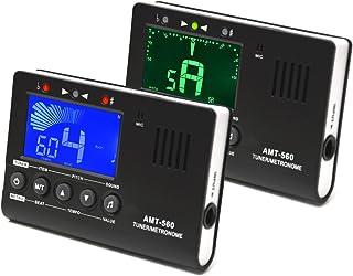 Elagon afinador + metrónomo (AMT-560T) Generador de notas