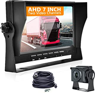 $77 » Sponsored Ad - Backup Camera for Pick Up with 7 Inch Monitor Back Up Camara Systems for RV,Trailers,Trucks, IP69 Waterproo...