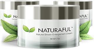 NATURAFUL – (3 JAR) TOP RATED Breast Enhancement Cream – Natural Breast..