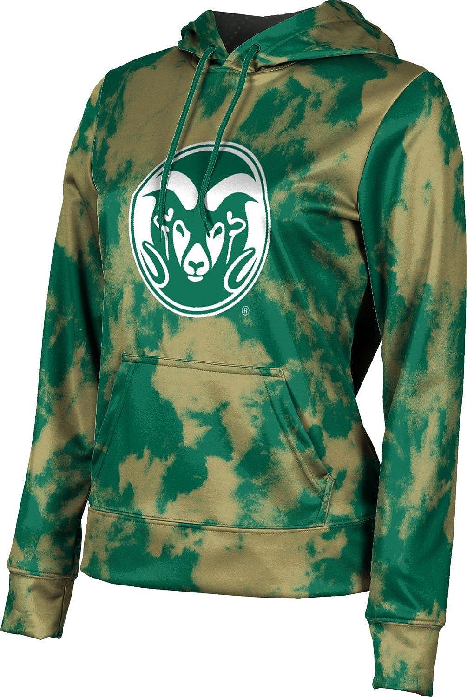 ProSphere Colorado State University Girls' Pullover Hoodie, School Spirit Sweatshirt (Grunge)