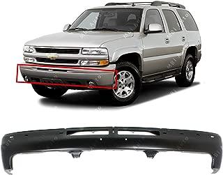 MBI AUTO - Primered, Steel Front Bumper Face Bar Fascia for 2000 2001 2002 2003 2004 2005 2006 Chevy Silverado, Suburban, Tahoe 00-06, GM1002375