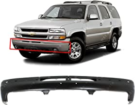 MBI AUTO - Primered, Steel Front Bumper Face Bar Fascia for 2000 2001 2002 2003 2004 2005 2006 Chevy Silverado, Suburban, Tahoe 00-06, GM1002375