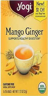 Yogi Tea, Mango Ginger, 16 Count, Packaging May Vary