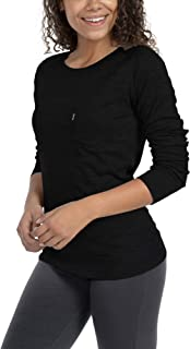 Sponsored Ad - Woolly Clothing Women's Merino Pro-Knit Wool Crew Neck Sweatshirt - Mid Weight - Wicking Breathable Anti-Odor