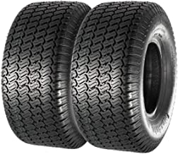 Set of 2 13x5.00-6 13x5x6 Turf Tires for Lawn and Garden Mower,4PR,P332