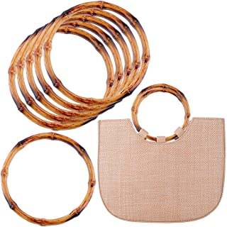 New 1 Pc Bamboo Rattan Purse Hanger Bag Handle Diy Craft Handbag Replacement Accessories Bag Parts & Accessories