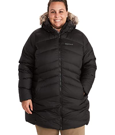 Marmot Plus Size Montreal Coat (Black) Women