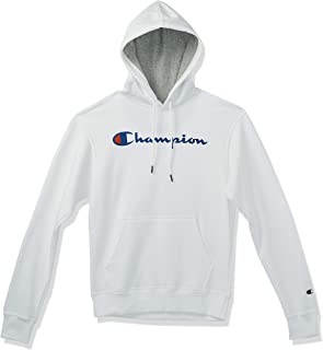Champion mens Graphic Powerblend Fleece Pullover Hood Graphic Powerblend Fleece Pullover Hood