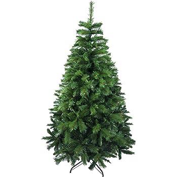 HOMCOM Árbol de Navidad 120cm Artificial Árboles con 130 Luces LED 7 Colores y Estrella Decorativa Brillante Árbol con Soporte Fibra Óptica: Amazon.es: Hogar