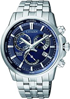 CITIZEN Mens Solar Powered Watch, Analog Display and Stainless Steel Strap BL8140-80L