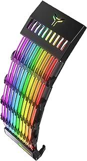 gazechimp Durável Rainbow Symphony Power Cord Light Efeito de Iluminação -íris Automático