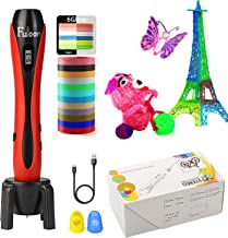 Fuloon 3D Pen for Kids,Intelligent 3D Printing Pen with LED Display,USB Charging,Speed Printing&Temperature Control,Best Toy Birthday Holiday Gifts for Boys Girls Teens Adults