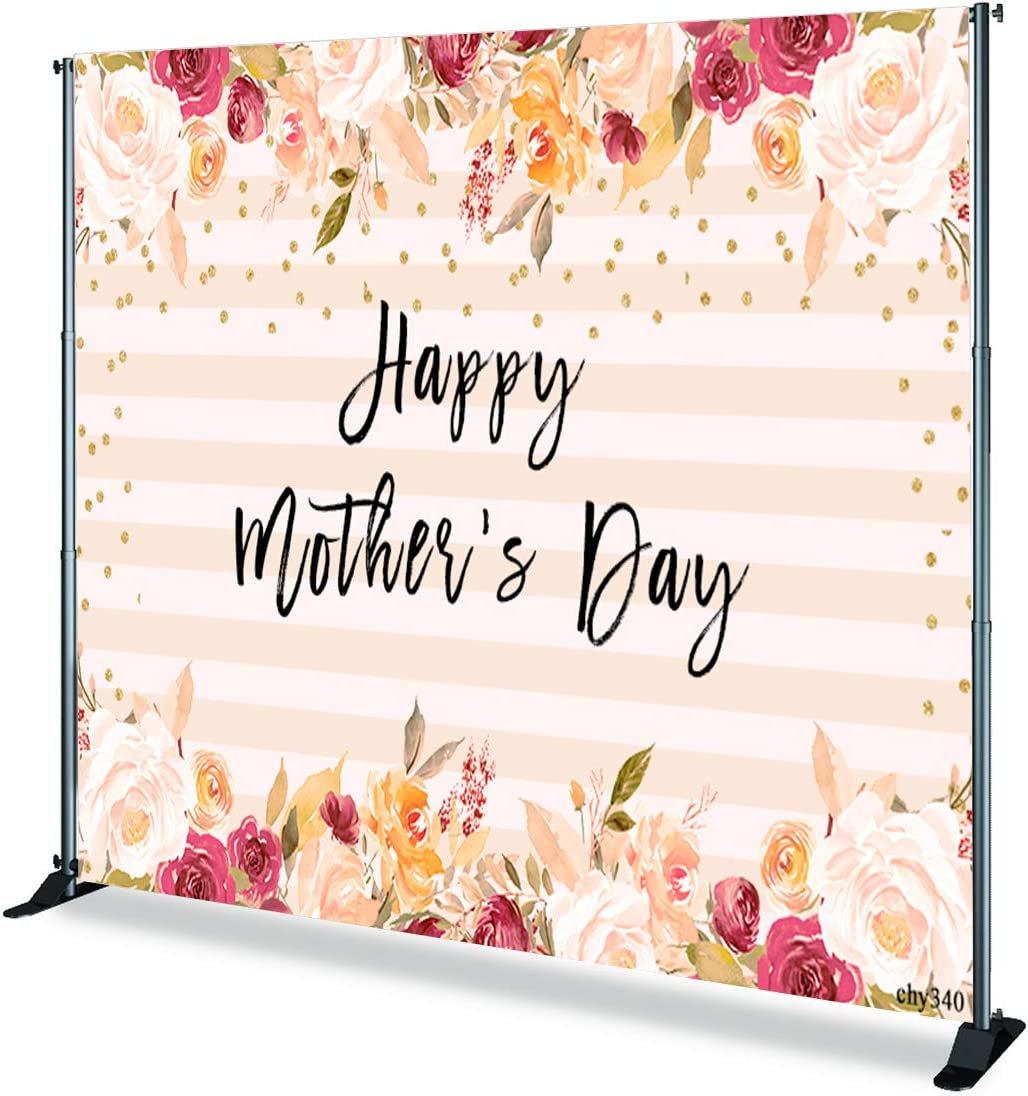TCReal Flower Background Photography Studio Flower Sea Background Baby Birthday Party Romantic Wedding Photography Background Fantasy Home Decoration 7x5ft,chy330