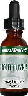 NutraMedix Houttuynia Leaf Extract Drops - Houttuynia cordata for Microbial Defense (1 Ounce, 30 Milliliters)